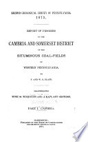 Report of Progress 1874 1889 A Z  Book
