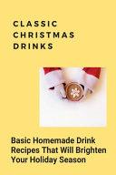 Classic Christmas Drinks