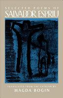 Selected Poems of Salvador Espriu