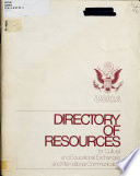 Directory of Resources for Cultural and Educational Exchanges and International Communication Book
