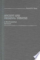 Ancient And Medieval Theatre Book PDF