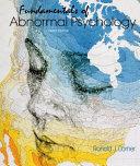 Fundamentals of Abnormal Psychology