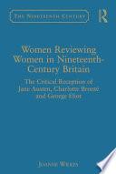 Women Reviewing Women In Nineteenth Century Britain