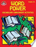 Word Power Grades 3 4 Enhanced Ebook