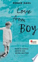 Love from Boy  : Roald Dahls Briefe an seine Mutter