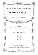 Pope s Translation of Homer s Iliad