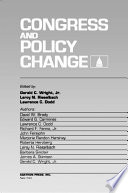 Congress and Policy Change Book PDF