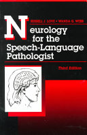 Neurology For The Speech Language Pathologist Book PDF