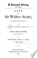 Life of Sir Walter Scott