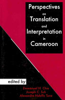 Pdf Perspectives on Translation and Interpretation in Cameroon Telecharger
