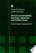 Annual Accountability Hearings Book PDF