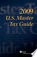 U S  Master Tax Guide 2009