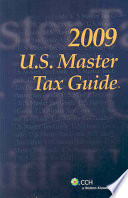 """U.S. Master Tax Guide 2009"" by CCH Incorporated"