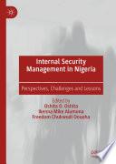 Internal Security Management in Nigeria