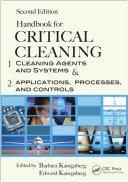 Handbook for Critical Cleaning, Second Edition - 2 Volume Set Pdf/ePub eBook