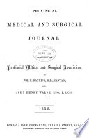 Provincial Medical   Surgical Journal
