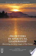 Frontiers in Spiritual Leadership Book