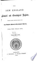 New England Historical and Genealogical Register