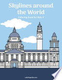 Skylines around the World Coloring Book for Kids 4