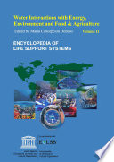 Water Interactions with Energy  Environment  Food and Agriculture   Volume II