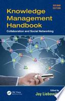 Knowledge Management Handbook Book