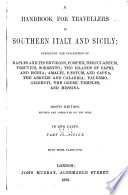 A Handbook for Travellers in Southern Italy and Sicily  Sicily Book PDF