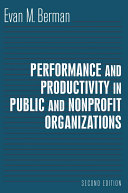 Productivity in Public and Nonprofit Organizations Pdf/ePub eBook