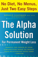 The Alpha Solution for Permanent Weight Loss Book