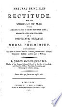 Natural Principles of Rectitude