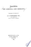 The Agricola And Germania PDF