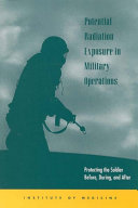 Pdf Potential Radiation Exposure in Military Operations Telecharger