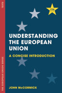 Cover of Understanding the European Union