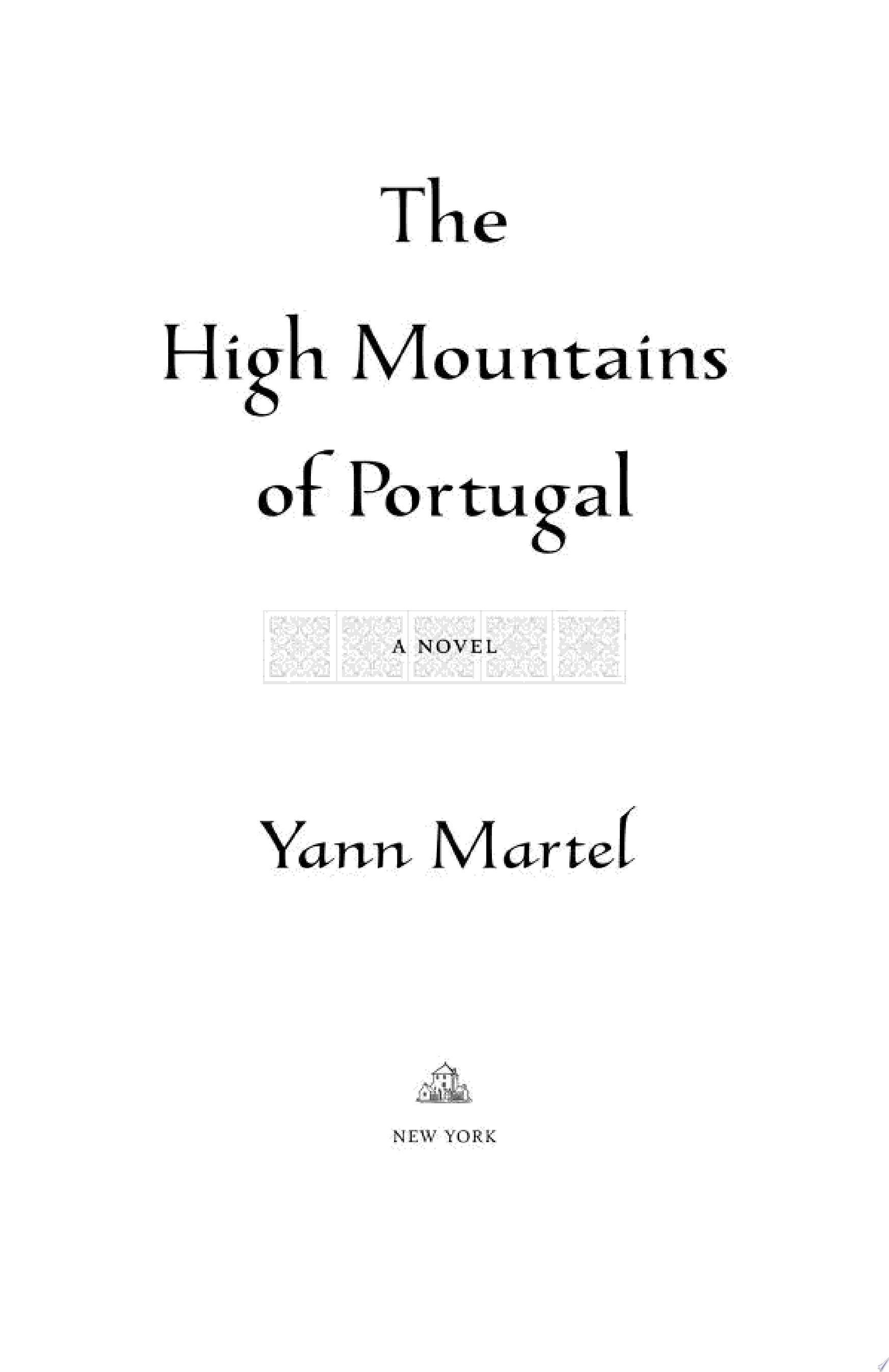 The High Mountains of Portugal