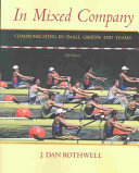In Mixed Company Book PDF