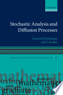 Stochastic Analysis and Diffusion Processes Book