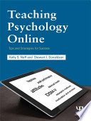 Teaching Psychology Online