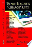 Health Education Research Trends
