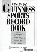 Guinness Sports Record Book  1989 90