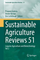 Sustainable Agriculture Reviews 51 Book