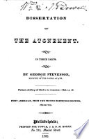 A Dissertation on the Atonement Book