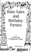 Bake Sales and Birthday Parties