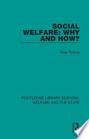 Social Welfare  Why and How