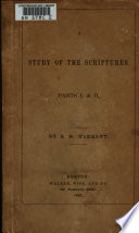 A Study of the Scriptures