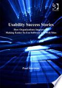 Usability Success Stories Book PDF