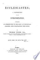 Ecclesiastes Book PDF