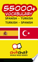 55000+ Spanish - Turkish Turkish - Spanish Vocabulary