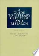 A Guide to Literary Criticism and Research