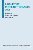 Linguistics in the Netherlands 2008