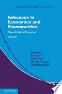 Advances in Economics and Econometrics: Volume 1