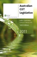 Australian GST Legislation